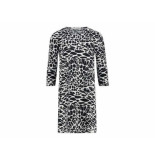 Penn & Ink Jurk 3/4 mouw animal print multi
