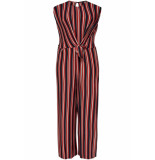 Only Carmakoma Cartyra sl jumpsuit stripe 15181283 night sky/as dania d rood
