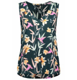 Vero Moda Vmsimply easy sl v-neck top 10219550 ponderosa pine/magnolia groen