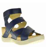 Fly London Sandalen sleehak blauw