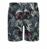 Shiwi Heren zwembroek tropics zwart
