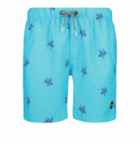 Shiwi Heren zwembroek turtle matinique blue turquoise