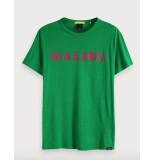 Scotch & Soda T-shirts 127812 groen