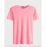 Scotch & Soda T-shirts 127831 paars
