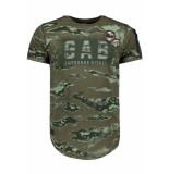Gabbiano T shirt 13882 army groen