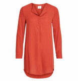 VILA Vila vilucy l/s tunic rood