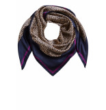 SET 66538 5071701 shawl panterprint
