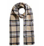 SET 66811 5071701 shawl camel bruin