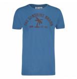 Shiwi Heren tshirt ronde hals palm yacht blue blauw