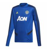 Adidas Mufc tr topy dx9039 blauw