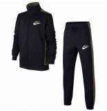 Nike Y nsw trk suit pac poly at5683-010 zwart