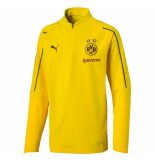 Puma Bvb 1/4 training top jr wi 753372-001 geel