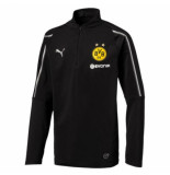 Puma Bvb 1/4 training top jr wi 753372-002 zwart