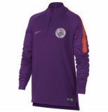Nike Mcfc youth nk dry sqd dril top 894396-541 paars