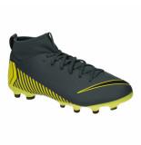 Nike Jr superfly 6 academy gs fg/mg ah7337-070 zwart
