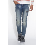 Scotch & Soda Skim jeans blauw