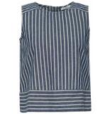 EDC Boxy blousetop 049cc1f013 c400 navy blauw
