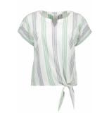 EDC Korte mouwen blouse 049cc1f002 c110 wit