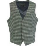 Bos Bright Blue Blue kris waistcoat 19111kr14sb/340 green groen