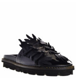 Patrizia Bonfanti Dames slippers zwart