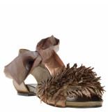 Papucei Dames sandalen brons beige