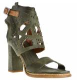 A.S. 98 Dames sandalen groen