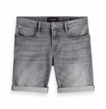 Scotch & Soda tye short grijs