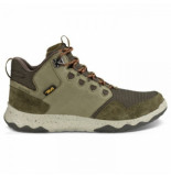 Teva Men arrowood mid wp dark olive groen