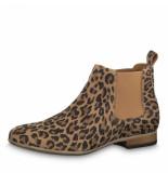 Tamaris Leopard laarsjes bruin