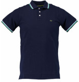 Born with Appetite Appetite sunny fancy polo pique 18108su32/290 blauw