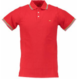 Born with Appetite Appetite sunny fancy polo pique 18108su32/676 rood