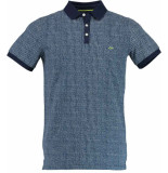Born with Appetite Appetite mathijs polo single jersey 18108ma26/290 blauw