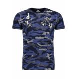Gabbiano T shirt 13821 navy blauw