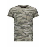 Gabbiano T shirt 13830 army groen
