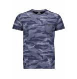 Gabbiano T shirt 13830 navy blauw