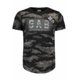 Gabbiano T shirt 13882 black zwart
