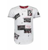 Gabbiano T shirt 13831 white wit