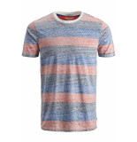 Jack & Jones Jorsider tee ss crew neck 12152722 fiery red/slim rood