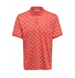 Only & Sons Onspenfield ss polo 22013052 cranberry rood