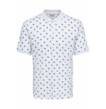 Only & Sons Onspenfield ss polo 22013052 white wit