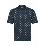 Only & Sons Onspenfield ss polo 22013052 dress blues blauw