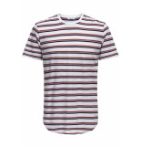 Only & Sons Onspalatine ss longy tee 22013137 white wit