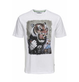 Only & Sons Onsloris ss funny tee 22012566 white wit