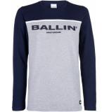 Ballin Amsterdam Long sleeve antra grijs