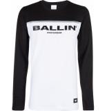 Ballin Amsterdam Long sleeve zwart