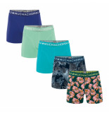 Muchachomalo Boys 5-pack shorts digital nature