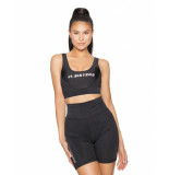 LA Sisters Sporty hologram top - zwart