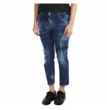 Dsquared2 Cool girl cropped jean blauw