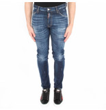 Dsquared2 2 5 pocket jeans blauw