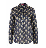 s.Oliver Blouse met print 14904112253 59a5 blauw